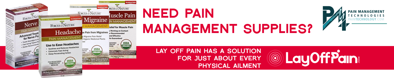 Need pain management supplies? Lay Off Pain has a solution for just about every physical ailment.