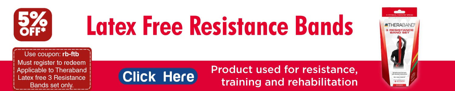 HYGENIC Latex free Resistance Bands - LayOffPain.com